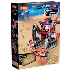 """Конструктор """"Technobot"""", цвет: красный, белый, сер., с кинетическим песком 804"""