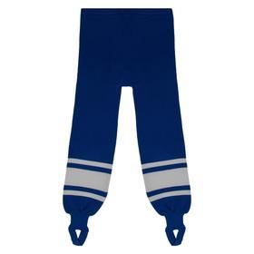 Рейтузы хоккейные, размер 32, цвет василёк/белый