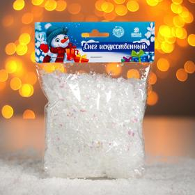 "Artificial loose snow for decoration "" semitransparent Flakes"""