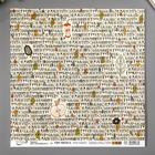 "Бумага для скрапбукинга Mr.Painter ""Осень в кармане 5"" 30,5х30,5 см 190гр/м2"