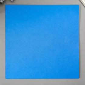 """Бумага для скрапбукинга Mr.Painter """"Морская пучина"""" 30,5х30,5 см 216гр/м2"""