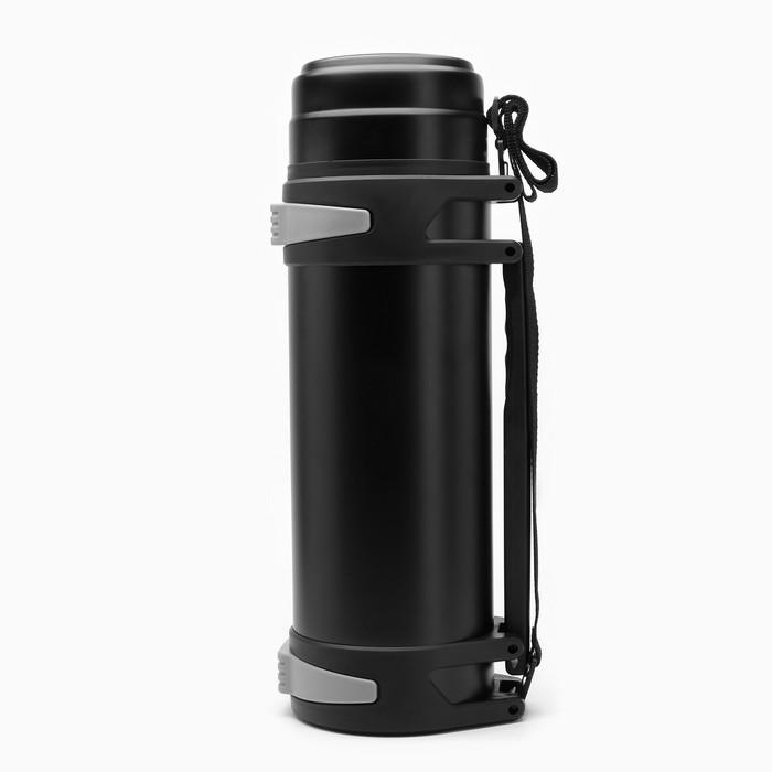 """Термос """"Вульпек"""" 5 л, сохраняет тепло 24 ч 15х46.7, чёрный - фото 639608"""