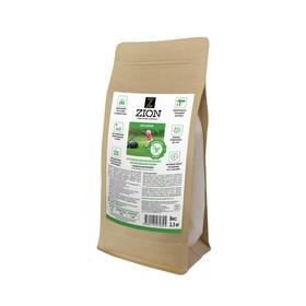 Ионитный субстрат ZION для выращивания газона, 2,3 кг