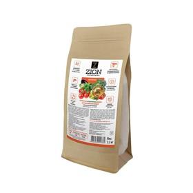 Ионитный субстрат ZION для выращивания овощей (овощных культур), 2,3 кг
