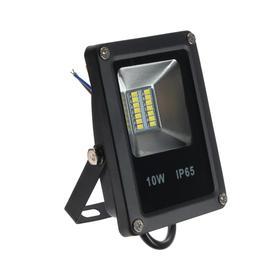 Прожектор светодиодный FL-SMD-10-CW, 10 Вт, 3000 К, IP65
