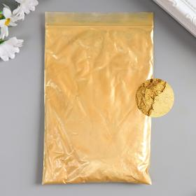 """Pigment powder 50 gr """"Light gold"""" mother of pearl"""