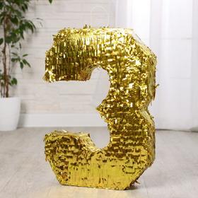Пиньята «Цифра 3»