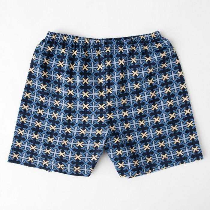 Трусы «Плетение» для мальчика, цвет индиго, рост 128 см (64) - фото 76777514