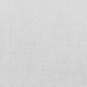 Вафельное полотно, ширина 40 см, длина 50 м, 110г/м2, 100% хлопок, цвет белый - фото 4643925