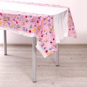"Tablecloth ""Happy Birthday"" 108x180 cm"