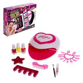Набор для девочек для маникюра «Красотка» с аксессуарами