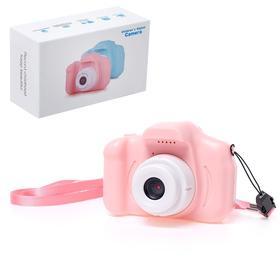 Детский фотоаппарат «Начинающий фотограф», цвет розовый