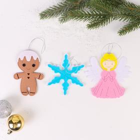 Набор для сюжетно-ролевых игр «Новогодние игрушки 2» ангел и печенька