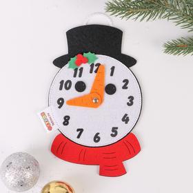 Развивающая игра «Часы.Снеговик»