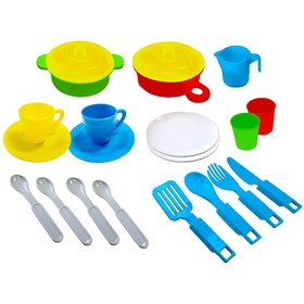A set of dishes, 23 items NP01