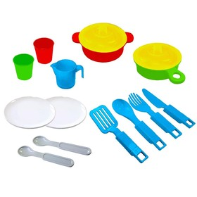 A set of dishes, 15 items NP02