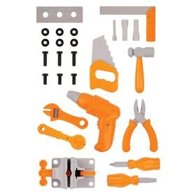 Construction tool set, 26 items NIS03