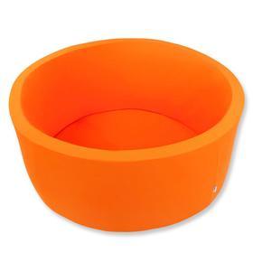 Сухой бассейн «Оранжевый», Н=40 см, D=1 м