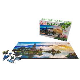 Фигурный деревянный пазл «Travel collection» о.Бали