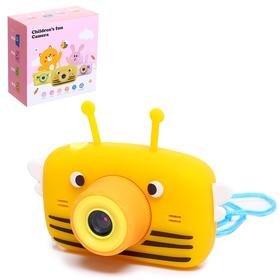 "Детский фотоаппарат ""Пчёлка"", с селфи камерой, цвета МИКС"