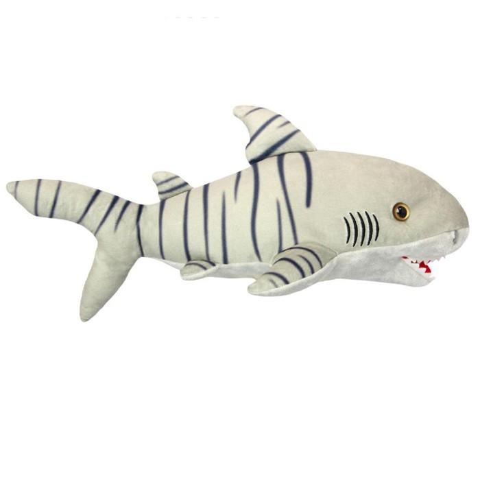 Мягкая игрушка «Тигровая акула» 25 см