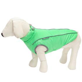 Жилет Osso «Аляска» для собак, размер 40-1 (ДС 37-40, ОШ 42, ОГ 52-62), салатовый