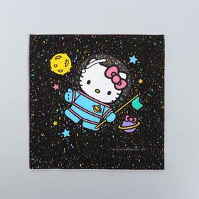 Paper napkins Hello Kitty, Happy Birthday!, 33x33, 20 PCs