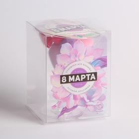 Подарочный набор спонжей «Счастье» 9,6 × 12,7 × 9,6 см