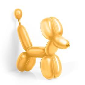 Шар для моделирования 260, перламутр, набор 50 шт., цвет золотой