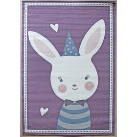 Прямоугольный ковёр Sofit 2349, 160x230 см, цвет light purple