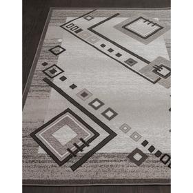 Прямоугольный ковёр Silver d188, 180x250 см, цвет gray