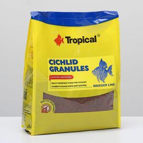 Корм для цихлид Cichlid Granules в виде меденно тонущих гранул, 1 кг