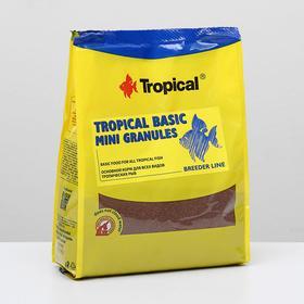 Корм для рыб Tropical Basic Granules в виде мелких, медленно тонущих гранул, 1 кг