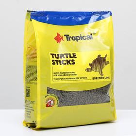 Корм для черепах Turtle Sticks в виде плавающих палочек, 1 кг