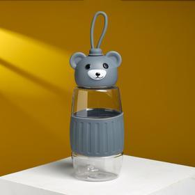 """Бутылка для воды """"Мишка"""" 350 мл, микс"""
