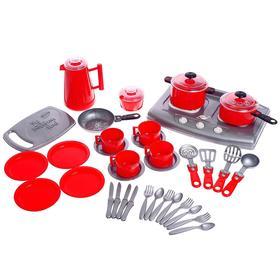 Набор посуды Iriska 7 39 предметов, МИКС