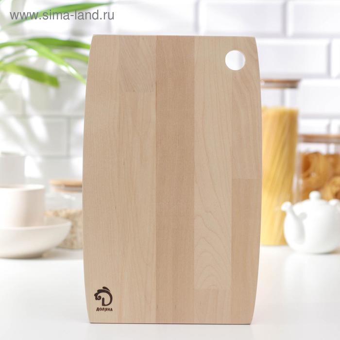 """Cutting Board """"Dolyana"""", 35x23 x1, 2 cm, solid birch"""