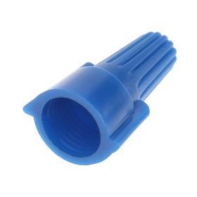 Зажим соединительный düwi СИЗ-Л-2, 12 мм2, с лепестками, изолирующий, синий, 10 шт.