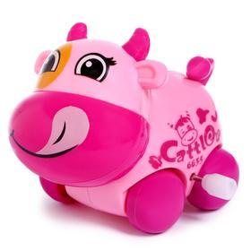 Игрушка заводная «Корова», цвета МИКС