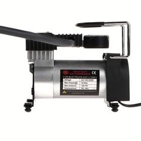 Компрессор автомобильный 12В с LED подсветкой, 35 л/мин, провод 2.5 м.