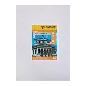 Фотобумага для лазерной печати А3 LOMOND, 200 г/м², матовая двусторонняя, 250 листов (0300331)