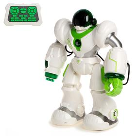 Робот радиоуправляемый «Патрульный», световые эффекты, русское озвучивание, цвет белый