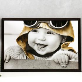 "Poster MDF ""Baby pilot"" 60x90 cm, wenge"