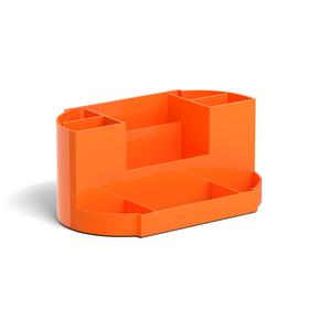 Настольная подставка-органайзер ErichKrause Victoria, Neon Solid, без/наполн, оранжевая 5148