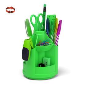 Набор настольный на вращающейся подставке ErichKrause® Mini Desk, Neon Solid, зеленый