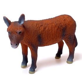 Фигурка животного «Домашний осёл», длина 26 см