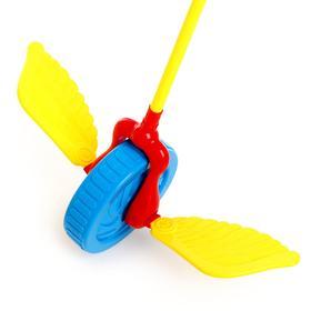 Каталка на палке «Колесо», цвета МИКС