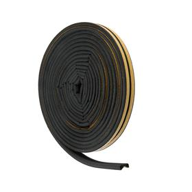 Sealer for Windows and doors UBL010P P-profile (rubber) on an adhesive basis, color black,