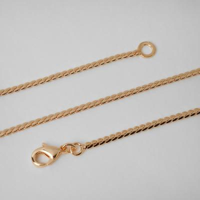 """Chain """"Status"""" snake, gold color, 60cm"""