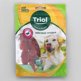 Мясные грудки из утки для собак, 70г